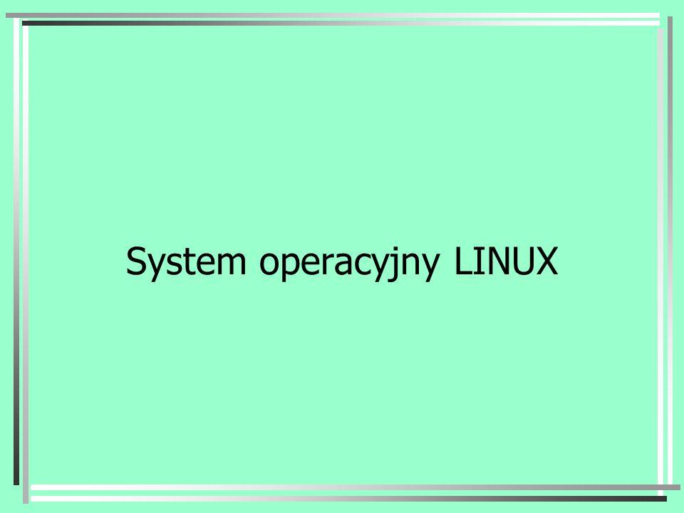 System operacyjny LINUX