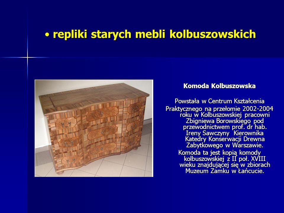 repliki starych mebli kolbuszowskich