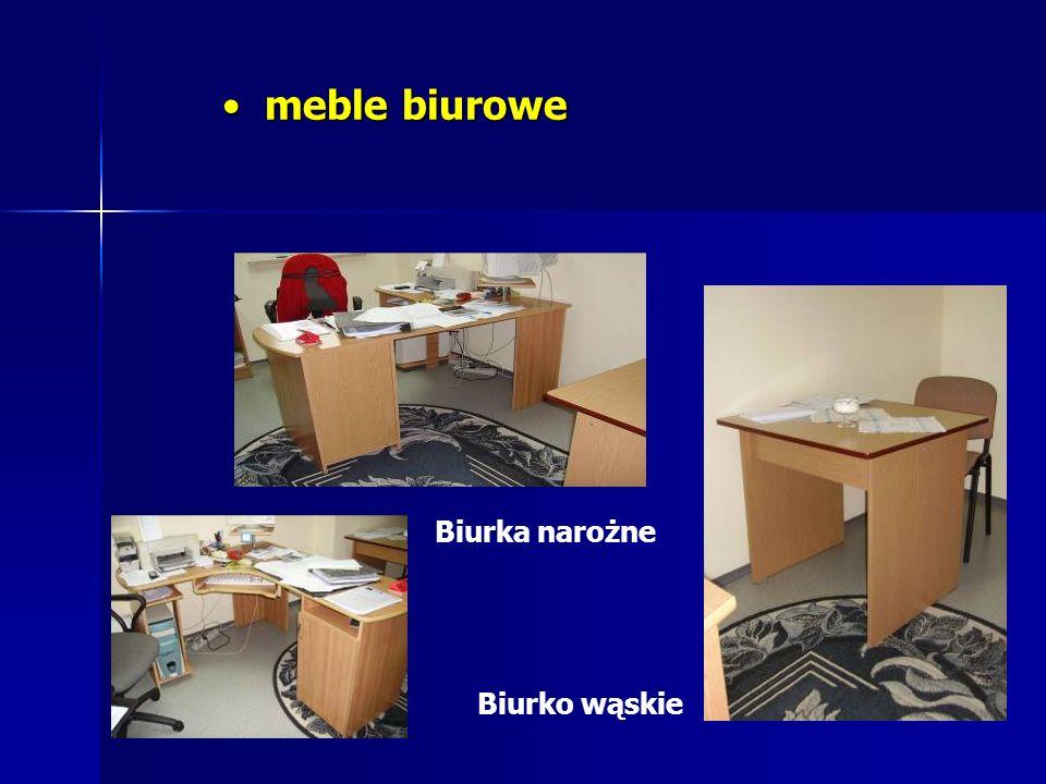 meble biurowe Biurka narożne Biurko wąskie