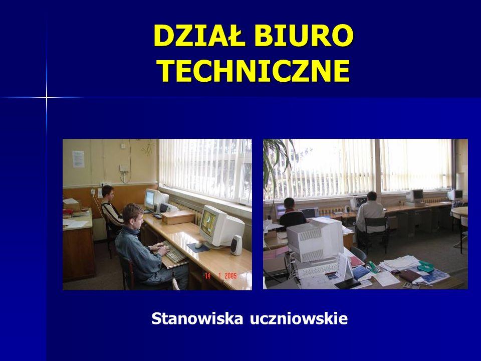 DZIAŁ BIURO TECHNICZNE