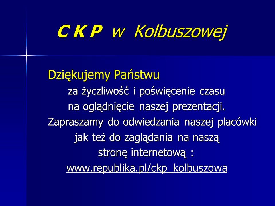 C K P w Kolbuszowej Dziękujemy Państwu