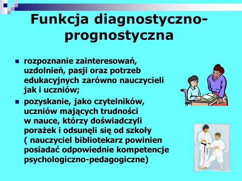 Funkcja diagnostyczno-prognostyczna