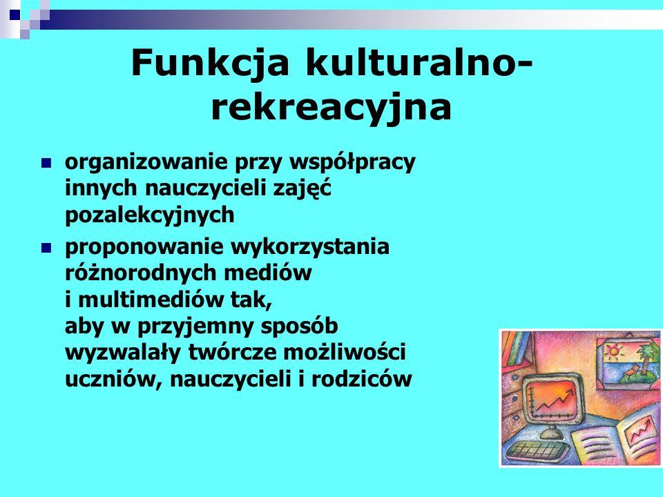 Funkcja kulturalno-rekreacyjna
