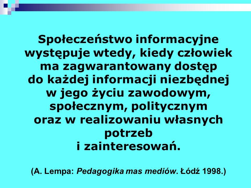 Społeczeństwo informacyjne