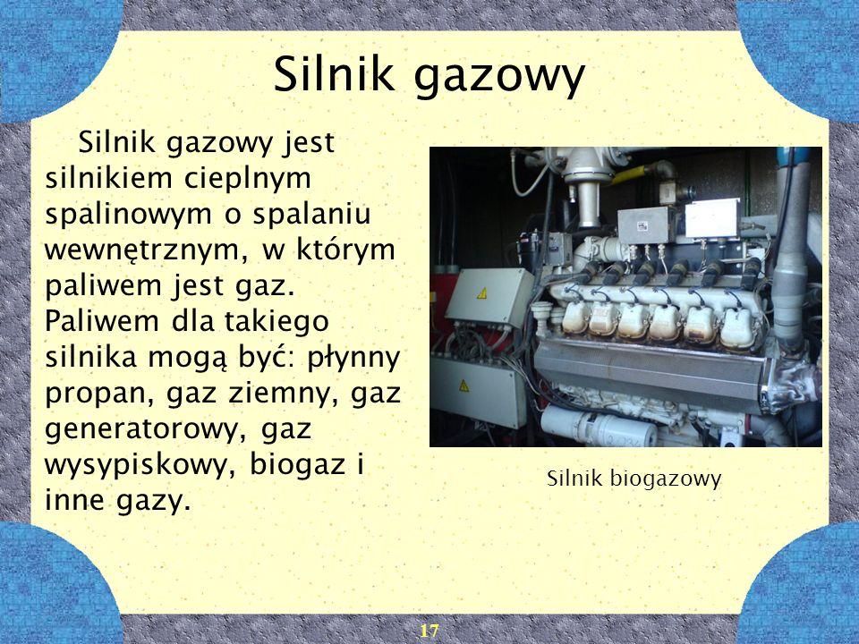 Silnik gazowy