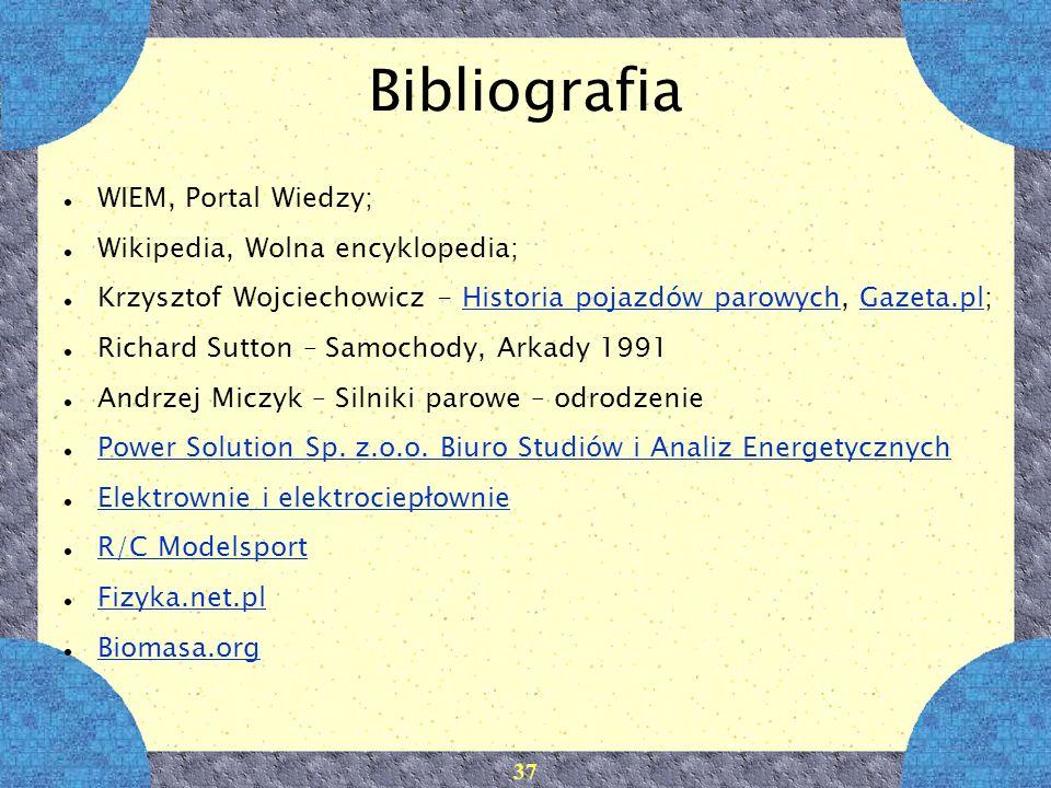 Bibliografia WIEM, Portal Wiedzy; Wikipedia, Wolna encyklopedia;