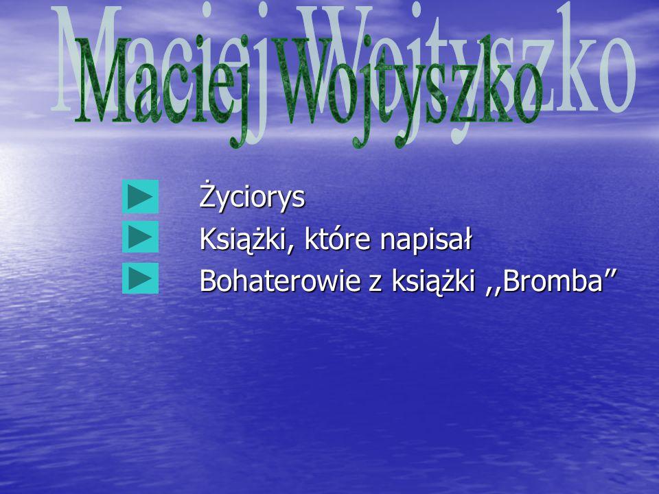 Maciej Wojtyszko Życiorys Książki, które napisał