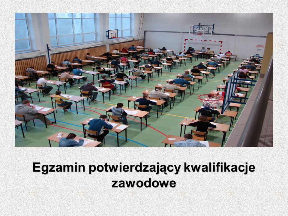 Egzamin potwierdzający kwalifikacje zawodowe