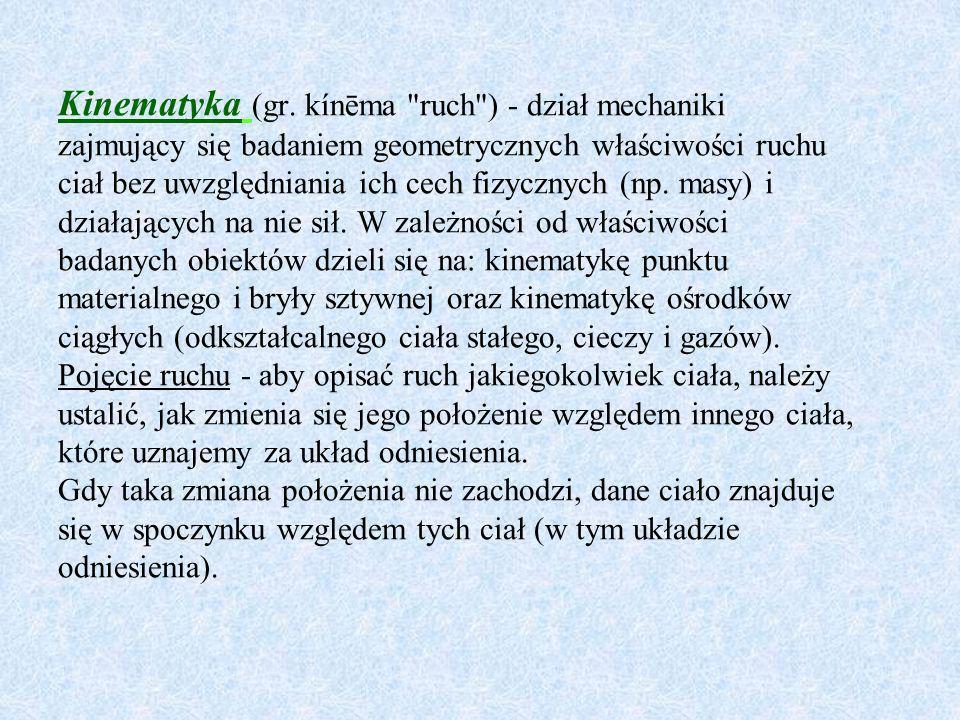Kinematyka (gr.