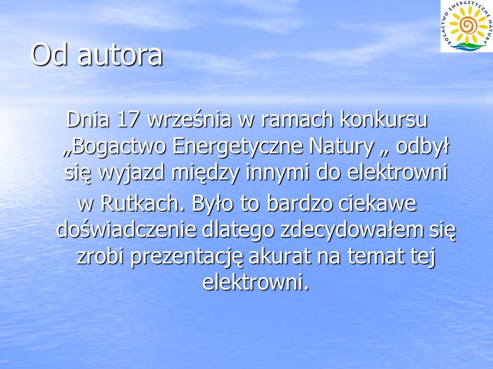 """Od autora Dnia 17 września w ramach konkursu """"Bogactwo Energetyczne Natury """" odbył się wyjazd między innymi do elektrowni."""