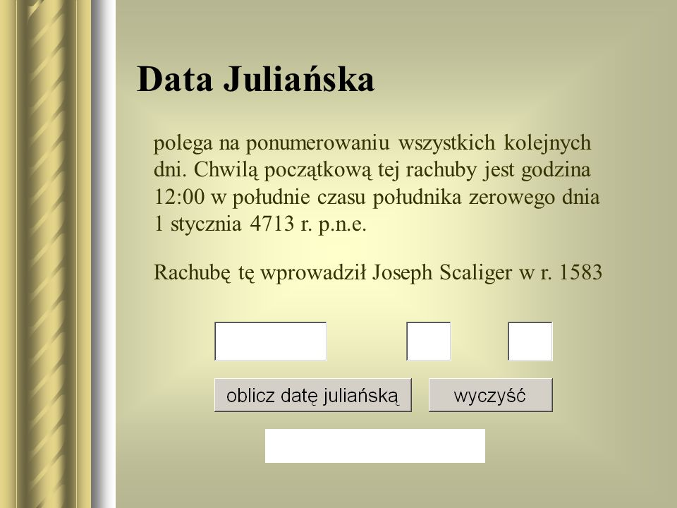 Data Juliańska