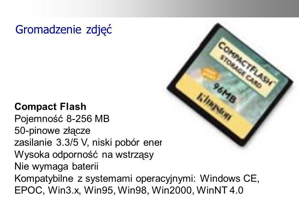 Gromadzenie zdjęć Compact Flash