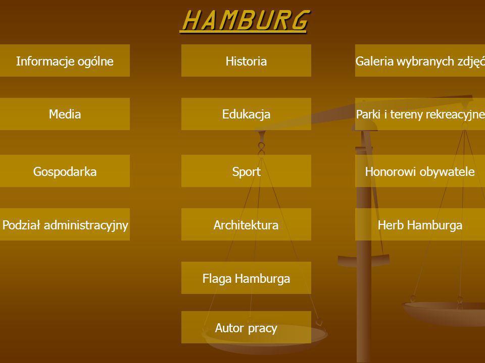 HAMBURG Informacje ogólne Historia Galeria wybranych zdjęć Media