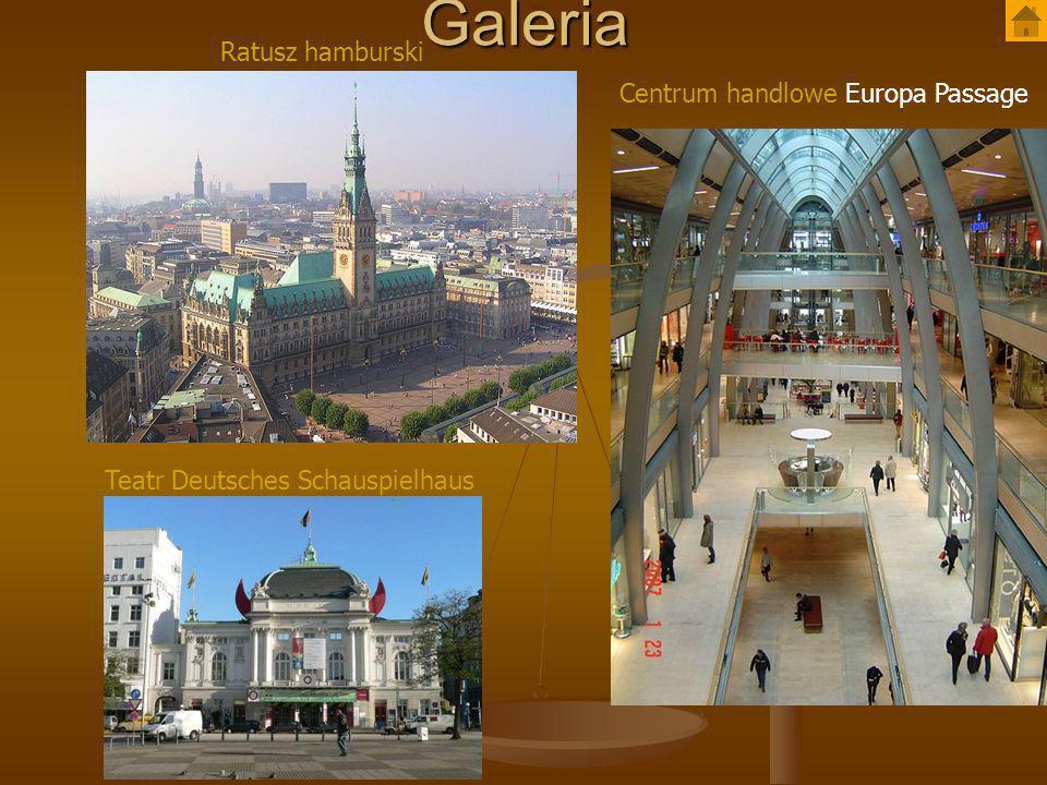 Galeria Ratusz hamburski Centrum handlowe Europa Passage