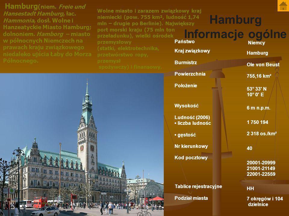 Hamburg Informacje ogólne