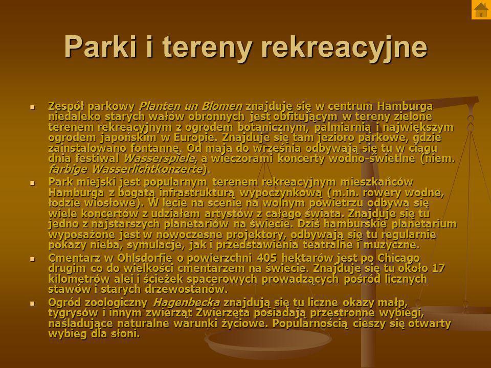 Parki i tereny rekreacyjne