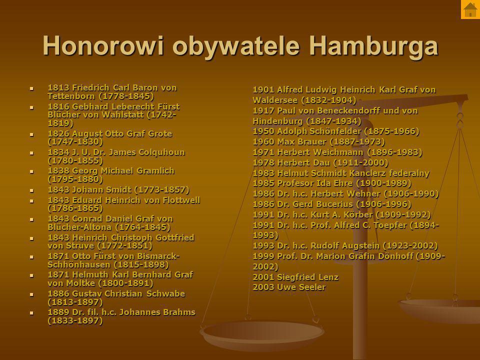 Honorowi obywatele Hamburga