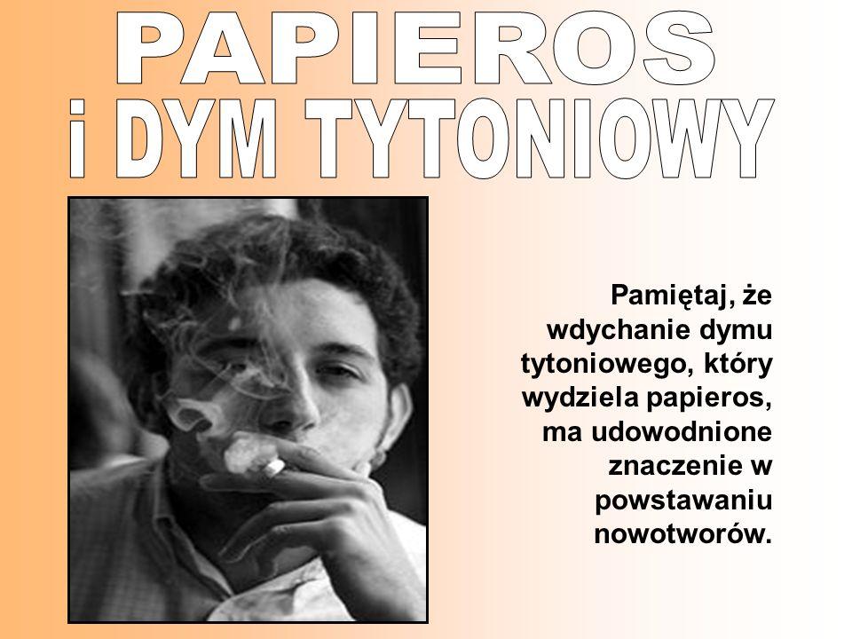 PAPIEROS i DYM TYTONIOWY