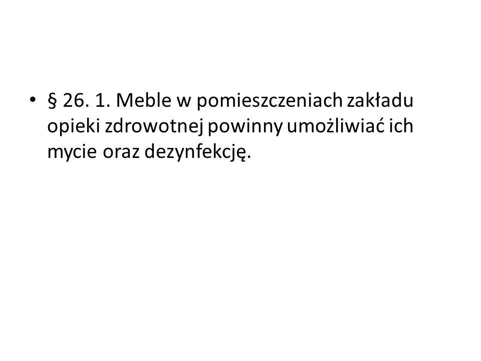 § 26. 1.