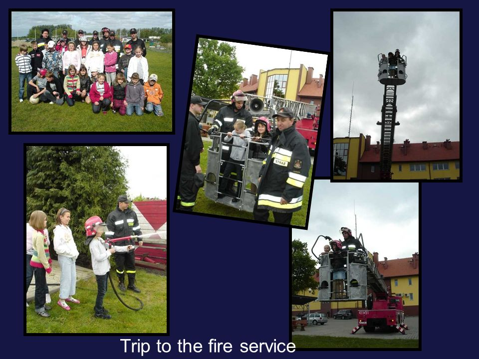 Trip to the fire service