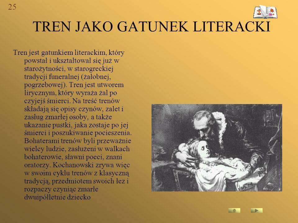 TREN JAKO GATUNEK LITERACKI