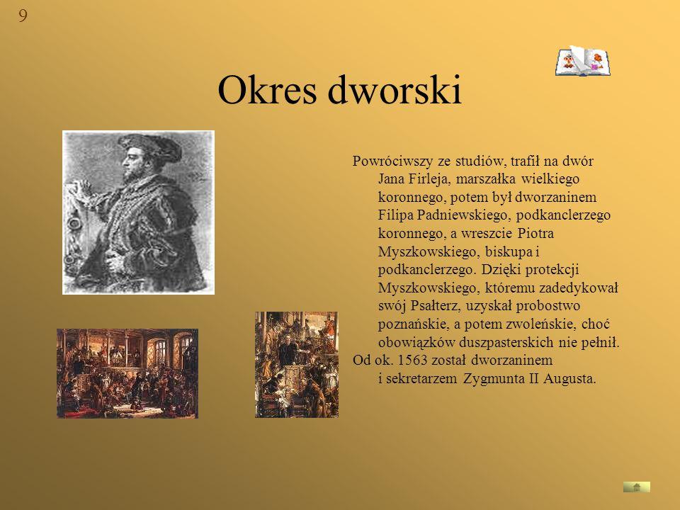 9 Okres dworski.