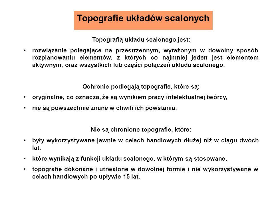Topografie układów scalonych