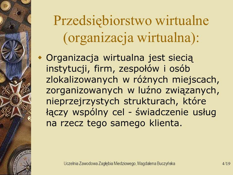 Przedsiębiorstwo wirtualne (organizacja wirtualna):