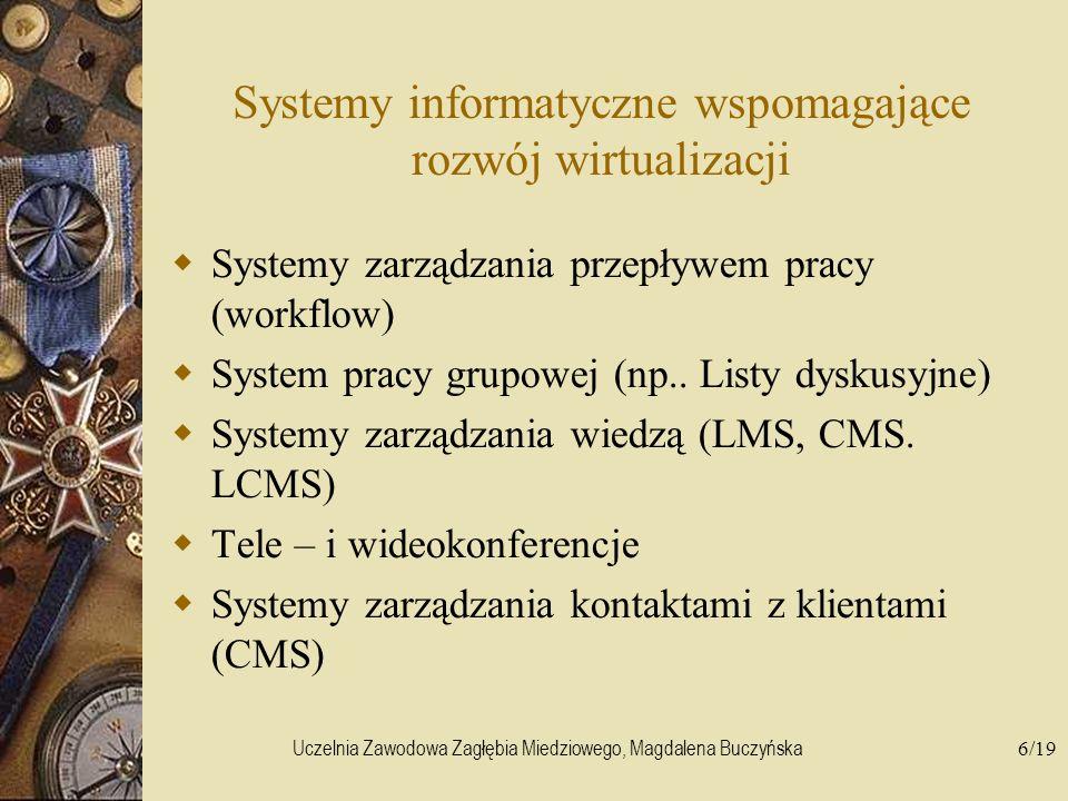 Systemy informatyczne wspomagające rozwój wirtualizacji