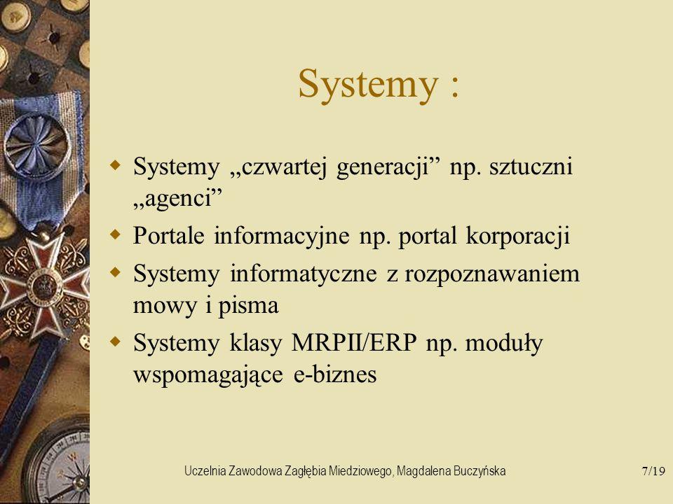 Uczelnia Zawodowa Zagłębia Miedziowego, Magdalena Buczyńska