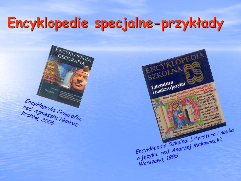 Encyklopedie specjalne-przykłady