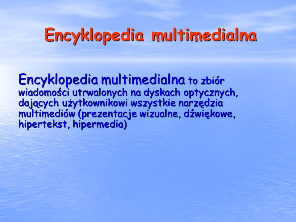 Encyklopedia multimedialna