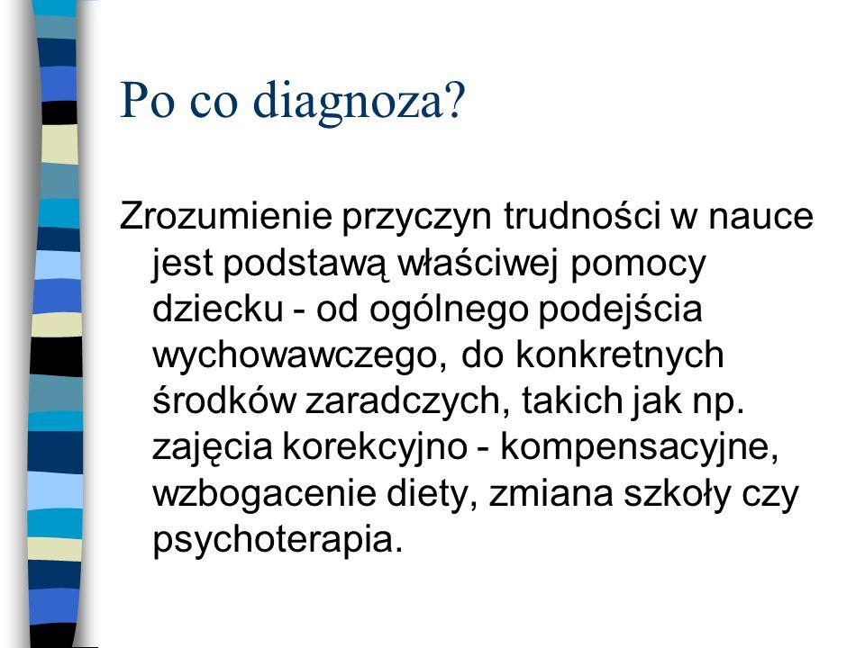Po co diagnoza