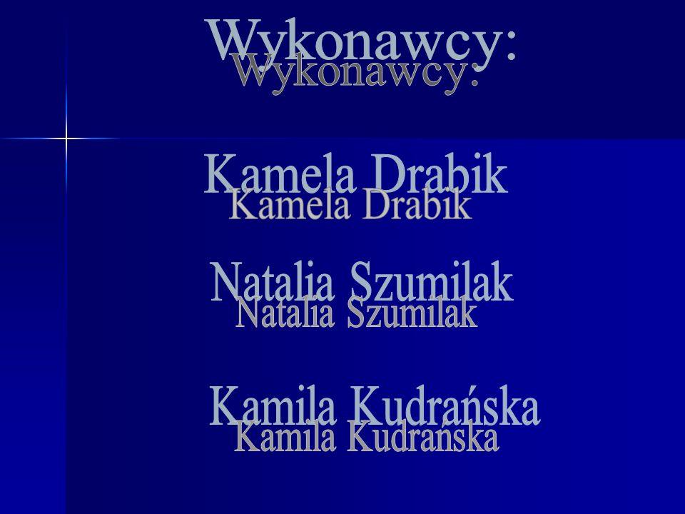 Wykonawcy: Kamela Drabik Natalia Szumilak Kamila Kudrańska