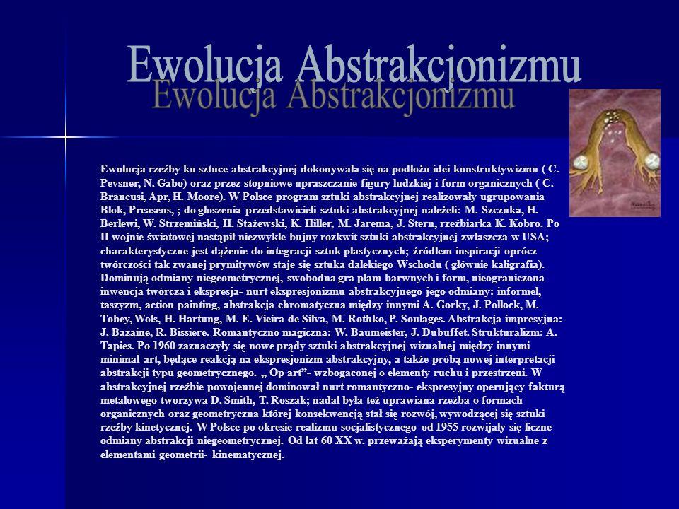 Ewolucja Abstrakcjonizmu