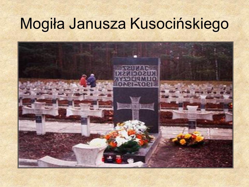 Mogiła Janusza Kusocińskiego