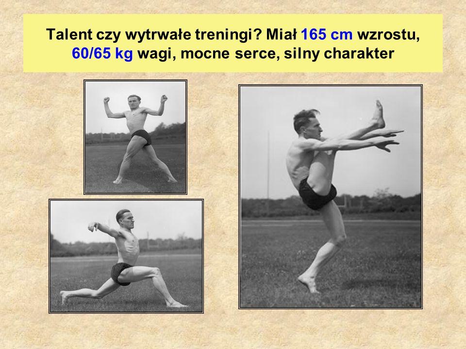Talent czy wytrwałe treningi