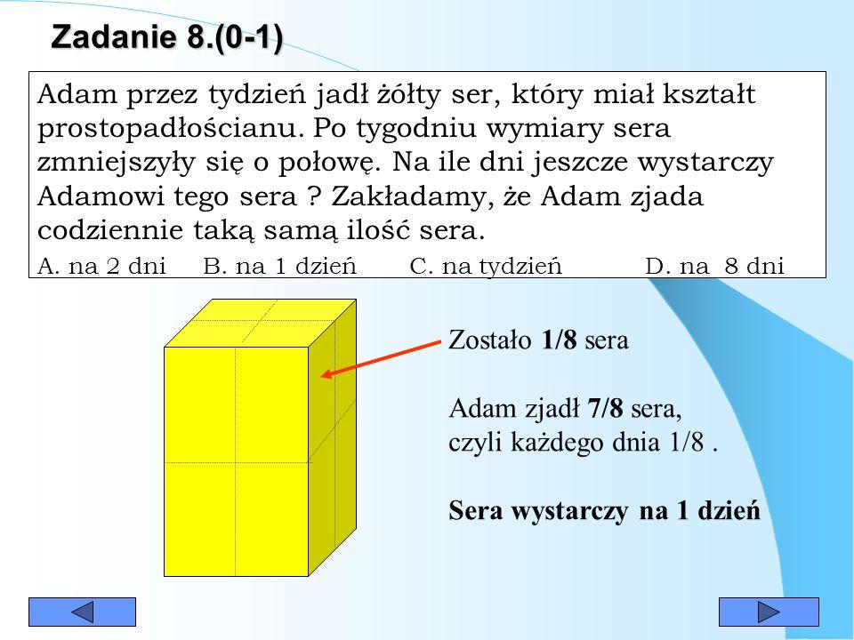 Zadanie 8.(0-1)