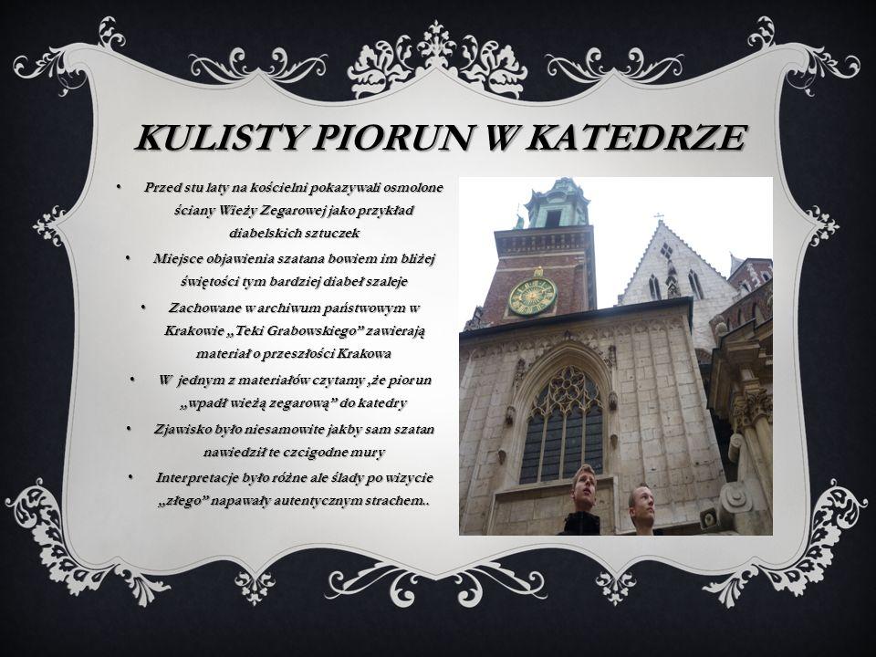 Kulisty piorun w katedrze