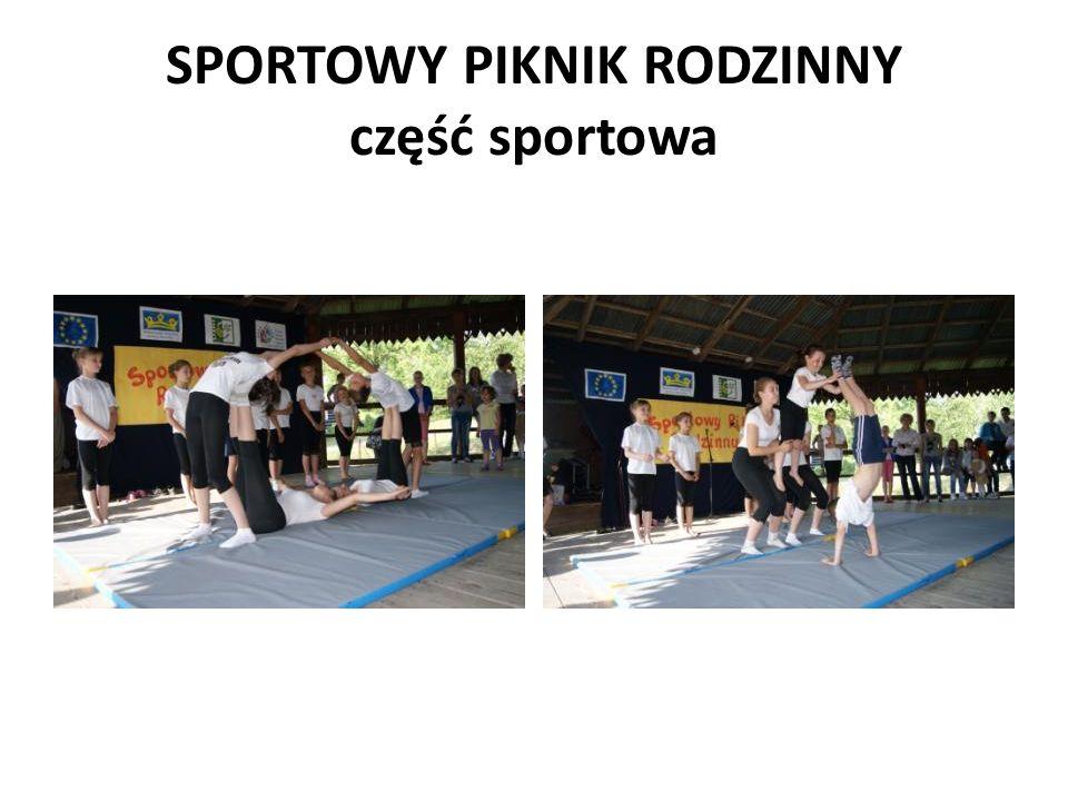 SPORTOWY PIKNIK RODZINNY część sportowa