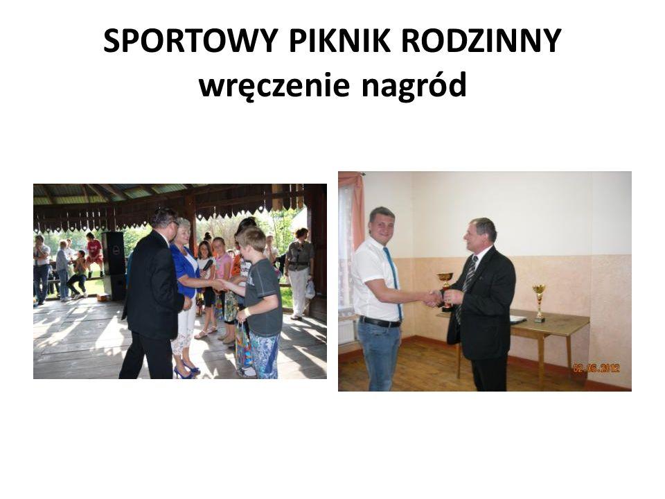 SPORTOWY PIKNIK RODZINNY wręczenie nagród