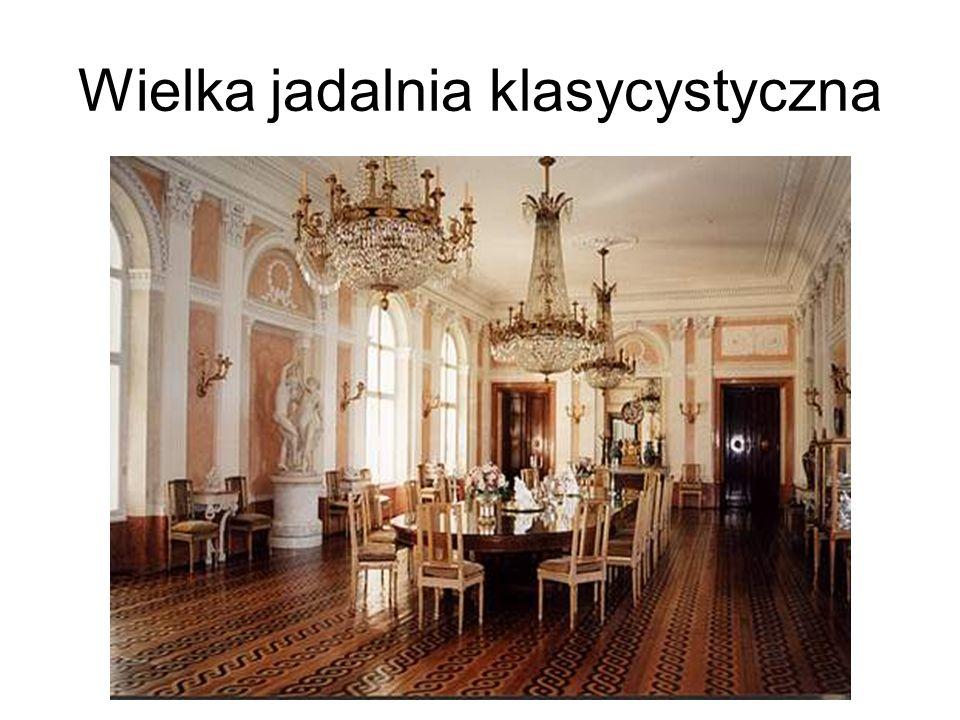 Wielka jadalnia klasycystyczna