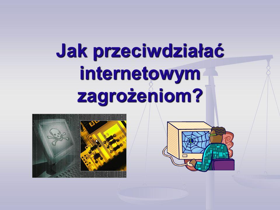 Jak przeciwdziałać internetowym zagrożeniom