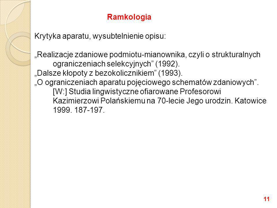 Ramkologia