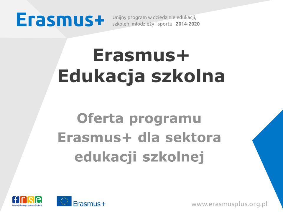 Erasmus+ Edukacja szkolna