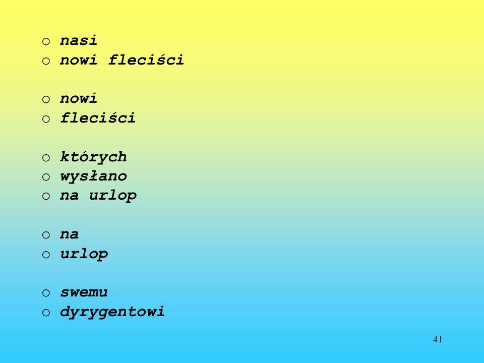 nasi nowi fleciści nowi fleciści których wysłano na urlop na urlop swemu dyrygentowi