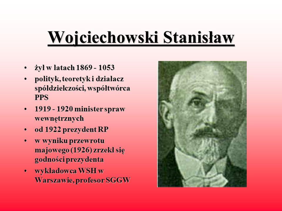 Wojciechowski Stanisław