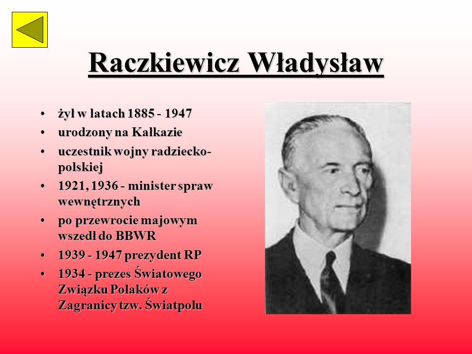 Raczkiewicz Władysław