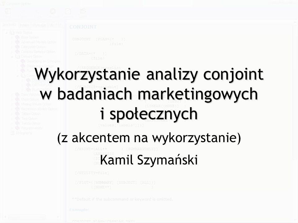 (z akcentem na wykorzystanie) Kamil Szymański