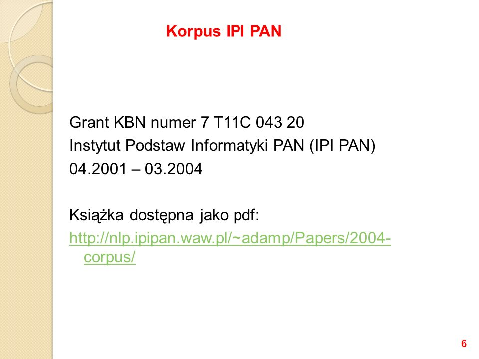Korpus IPI PAN